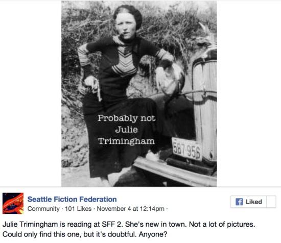 Seattle Fiction Federation- 8 December « Julie Trimingham